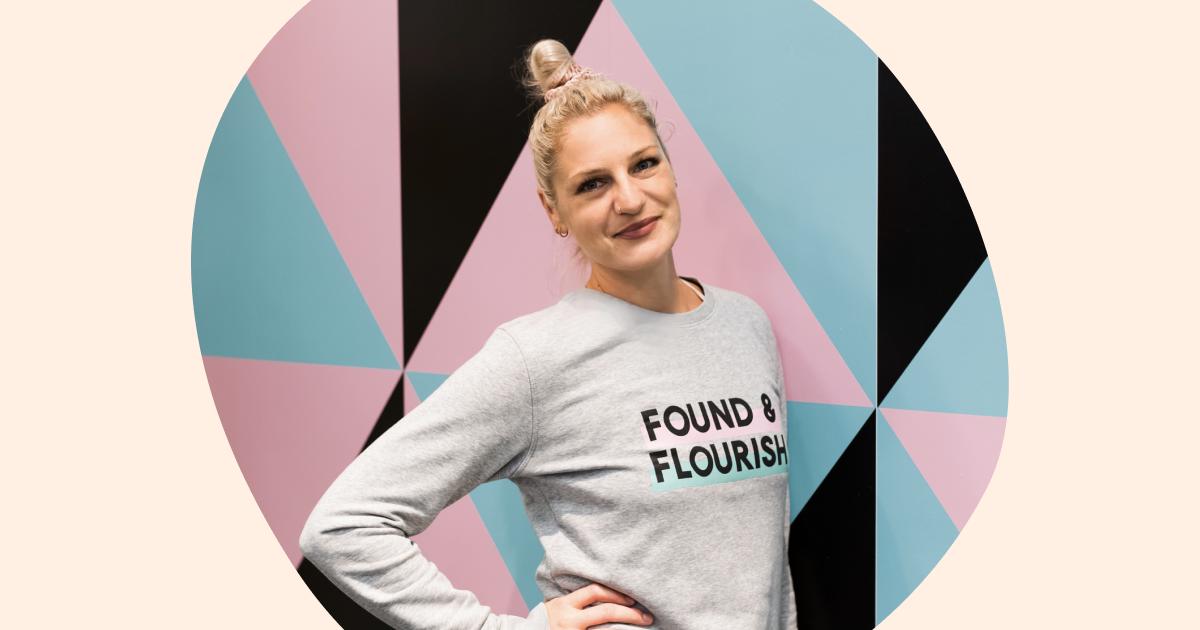 Found & Flourish - an affinity to girl power