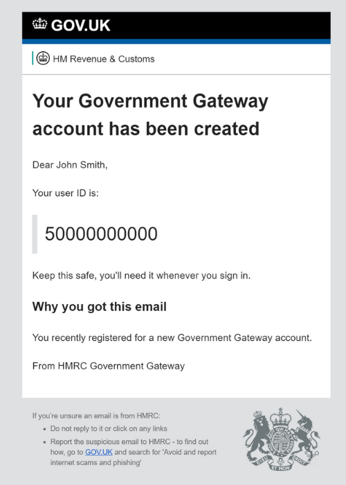 How Do I Find My Government Gateway User Id Taxscouts
